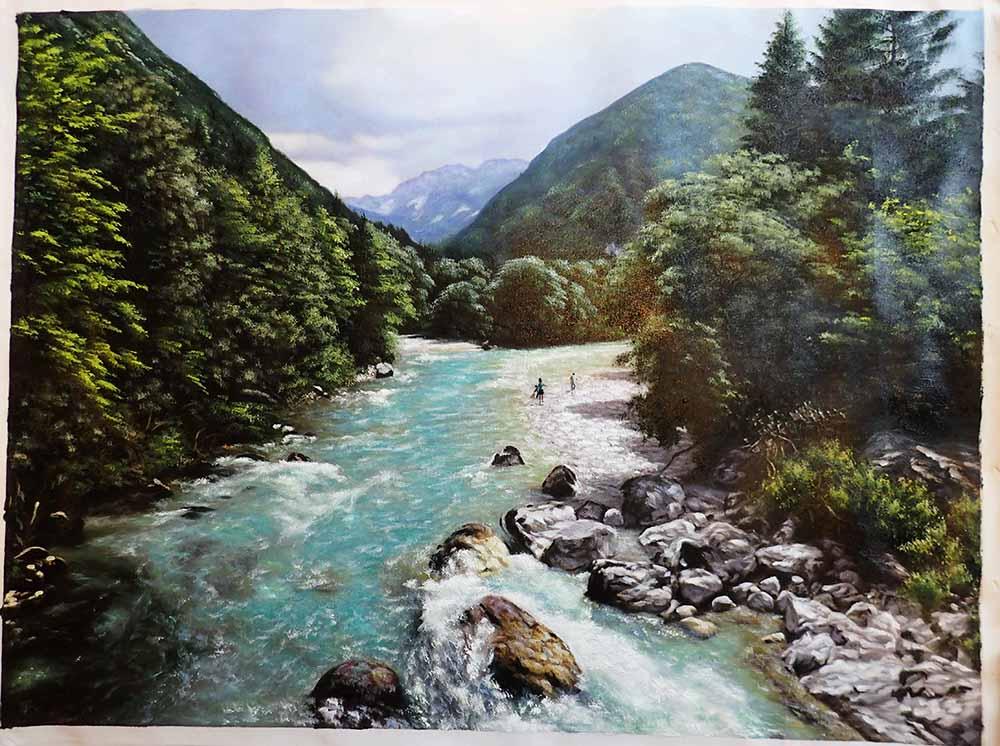 Slovenian landscape painting